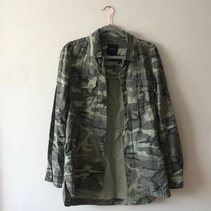Green Camp Army Jacket